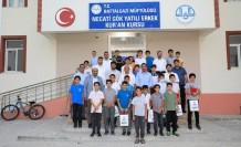 Başkan Güder, hafız olan 25 öğrenci için düzenlenen programa katıldı
