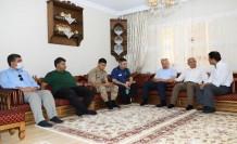 Başkan Güder Ve Kaymakam Duran'dan Anlamlı Ziyaret