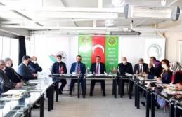 Başkan Gürkan, Tarım Platformu İstişare Toplantısına...