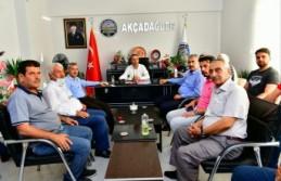 Başkan Çınar, Akçadağ Dayanışma Derneği Yönetimiyle...