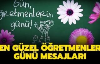 24 Kasım Öğretmenler Günü Mesajları-En Güzel...