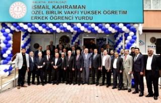 27. Dönem (TBMM) Başkanı Kahraman Malatya'da