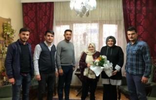 Battalgazi Ak Gençlik Emekli Öğretmen Türker'i...