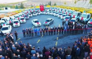Battalgazi Belediyesi Araç Filosunu Güçlendirdi