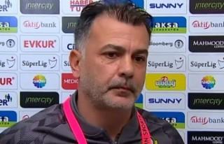 Murat Şahin: 'Maç 3-2 olunca maçı kaybetmek...