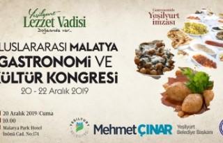 1.Uluslararası Malatya Gastronomi ve Kültür Kongresi...