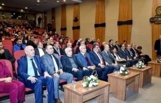 Büyükşehir Belediyesi Mehmet Akif Ersoy'u anma...