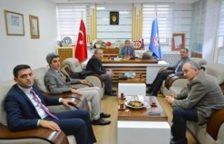 Eğitime Destek Platformu İl Yönetiminden Ali Tatlı'yı...
