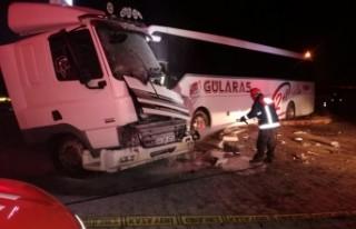 Malatya'da Kaza! 1 yaralı