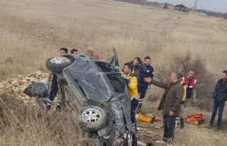 Malatya-Sivas yolunda kaza! 4 yaralı