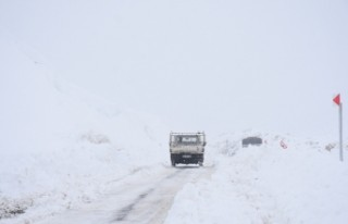 Malatya'da Kar yağışı, sis, tipi hayatı olumsuz...
