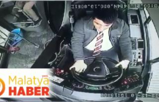 Malatya'da Otobüs Şoförüne Yumruklu Saldırı