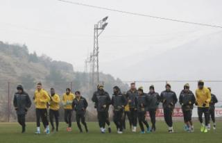 YMS'da Beşiktaş maçı hazırlıkları başladı