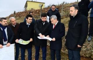 Başkan Çınar, yeni alternatif yol güzergâhlarının...