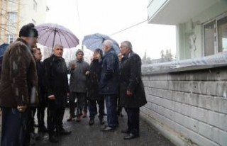 Başkan Güder: 'Malatya'mızda hasarlı...