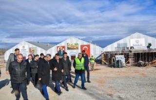 Başkan Gürkan, Yeni Kongre ve Fuar Merkezini İnşaatını...