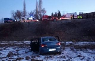 Doğanşehir'de Kaza! 4 yaralı