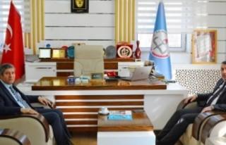 MTB Başkanı Özcan, Müdür Tatlı'yı Ziyaret...