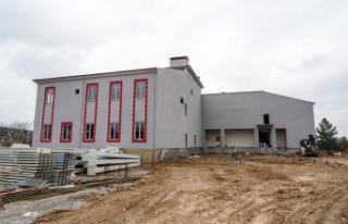 Yeni İtfaiye Binası inşaatı Devam Ediyor