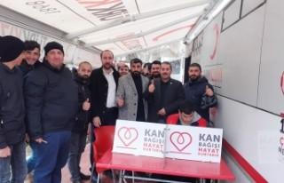 Yeniden Refah Partisi'nden kan bağışı kampanyası