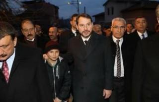 Başkan Güder, Bakan Albayrak'tan Faizlerin Ertelenmesini...