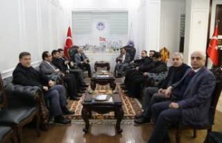 Başkan Güder, Cumhurbaşkanı Erdoğan'a Battalgazi'deki...