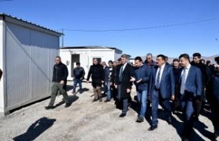 Başkan Gürkan Kale'de İncelemelerde Bulundu