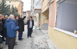 Başkan Gürkan, mahallelerde incelemelerde bulundu