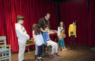 Büyükşehir'den Çocuklara Sanatsal Destek