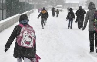 Malatya'da 14 Şubat Cuma Günü Okullar Tatil...
