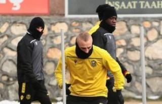 Y.Malatyaspor'da Sakat Futbolcular Çalışmalara...