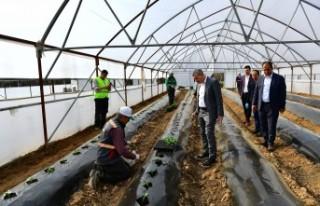 Başkan Çınar:'Hijyenik ve doğal ürünler...