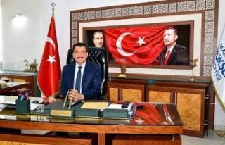 Başkan Gürkan'ın stiklal Marşı'nın...