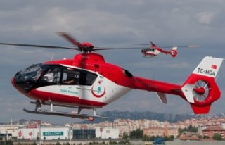 Beyin Kanaması Geçirdi Ambulans Helikopterle Malatya'ya...