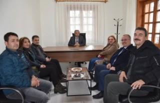 Doğanşehir'de Gölet Çatlakları İçin Çalışmalar...