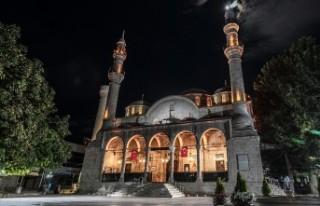 Malatya'daki Camilerde 'Korona'ya Karşı...