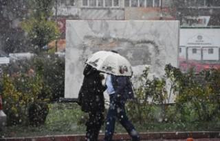 MGM'den Şiddetli Rüzgar Yağmur Uyarısı Geldi
