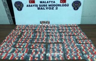 BALYOZ 2 operasyonunda çok sayıda uyuşturucu hap...