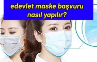 E-Devlet Ücretsiz maske nasıl alınır? Ücretsiz...