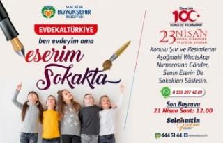 Malatya Büyükşehir Belediyesi'nden 23 Nisan Etkinliği