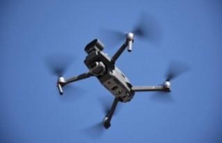 Malatya'da Sokağa Çıkanlar Drone İle Tespit...