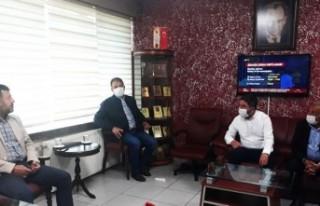 Ağbaba'dan Başkan Keskin'e Ziyaret