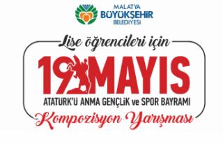 Büyükşehirden 19 Mayıs İçin Kompozisyon Yarışması