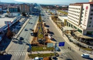 Malatya'da Cadde ve Sokaklar Trafiğe Yeniden...