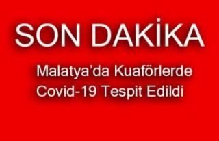 Şok..Şok...Şok! Malatya'daki Kuaförlerde...