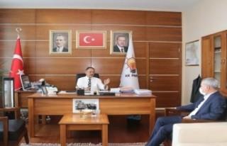 Başkan Çınar, Ankara'da ziyaretlerde bulundu