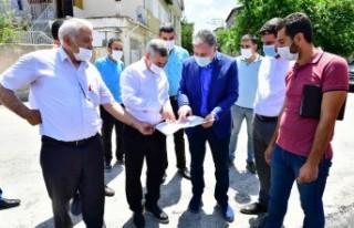 Başkan Çınar, Melekbaba Mahallesinde ki Yatırımları...