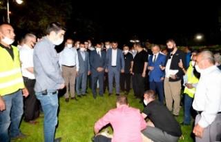 Başkan Gürkan, Sümerpark'ta vatandaşları dinledi