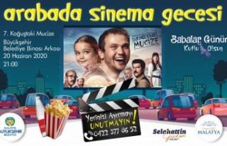 Büyükşehir'den Otomobil sinema etkinliği