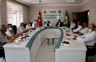 Çalık, Malatya Ziraat Odaları Koordinasyon Toplantısı'na...